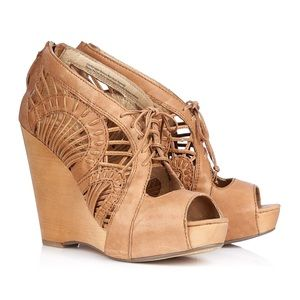 "Sam Edelman ""Kellen"" Wedge Sandals Sz. 10"